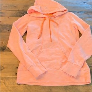 LUCY fitted 1/2 Zip Hoodie XS